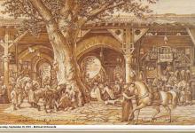 صورة دمشق – سوق ساروجة