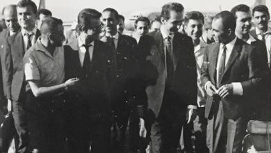 صورة أعضاء من قيادة حزب البعث في مطار المزة- تموز 1966