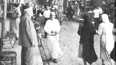 دمشق - سوق مدحت باشا ..بالسبعينيات
