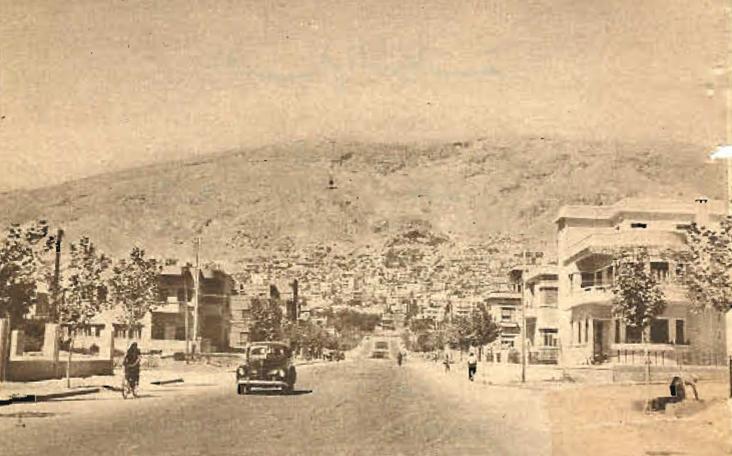 دمشق 1948 - شارع أبو رمانة ..شارع بريطانيا
