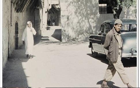 دمشق - الكلاسة ... يمينًا المدرسة الجقمقية 1959