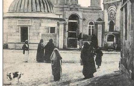 الجامع الحميدي في دير الزور مطلع القرن العشرين