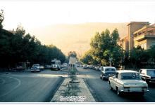 صورة دمشق – شــــــارع أبـــو رمــانـة..1973