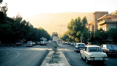 دمشق - شــــــارع أبـــو رمــانـة..1973