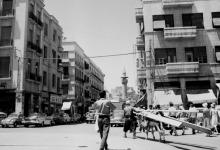 صورة دمشق – ساحة الحريقة 1960