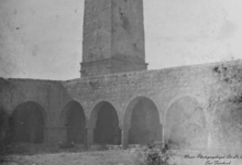 صورة درعا – الجامع العمري ١٩٠٨