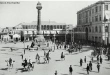 صورة دمشق 1918- طلائع دخول قوات الحلفاء