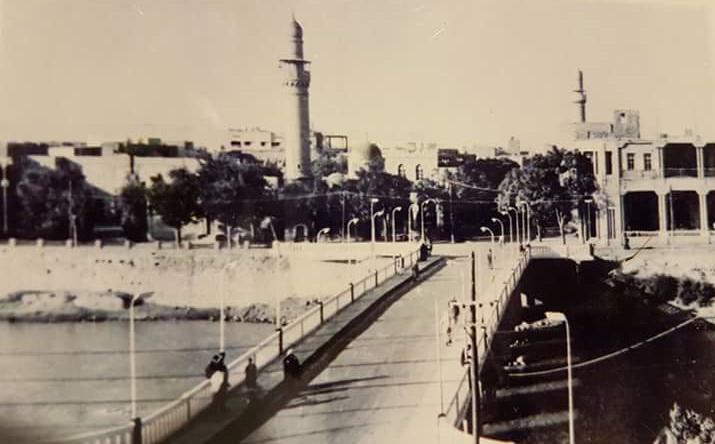 دير الزور - جامع السرايا .. خمسينيات القرن العشرين