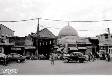 صورة دمشق- مدخل باب الجابية..بالسبعينات