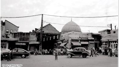 دمشق- مدخل باب الجابية..بالسبعينات