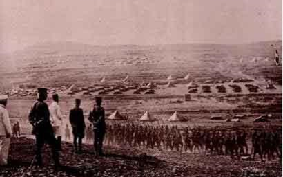 صورة القوات الفرنسية في معركة ميسلون 1920