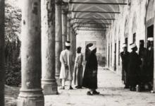 صورة دمشق- طُـلاّب العِلْـم بالتكية السليمانية…1935
