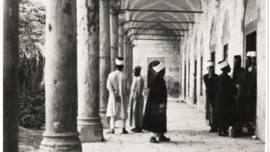 دمشق- طُـلاّب العِلْـم بالتكية السليمانية...1935