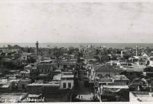 صورة منظرٌ عامٌّ لمدينة اللاذقيَّة عام 1954م