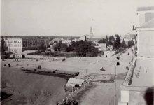 صورة دمشق – ساحة ونزلة الحجاز..حوالي 1911