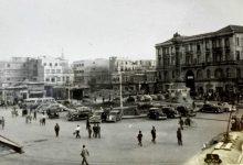 صورة دمشق 1947 – ساحة المرجة..