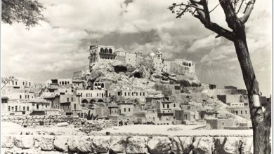 صورة دمشق – دير سيدة صيدنايا..في الخمسينيات