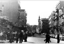 صورة دمشق 1976- قرب مدخل سوق الحميدية بإتجاه الدوريشية..