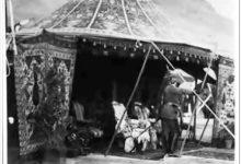 صورة دمشق – الخيمة التي نصبت للإمبراطور الألماني في حي المهاجرين