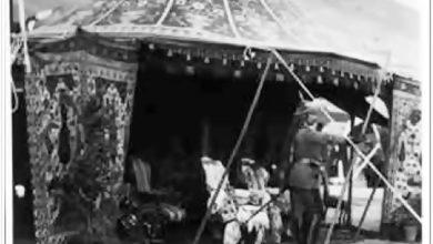 دمشق - الخيمة التي نصبت للإمبراطور الألماني في حي المهاجرين