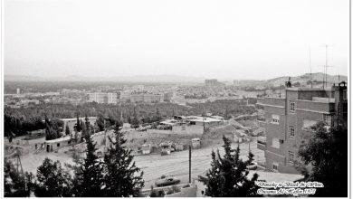 دمشق - ساحة آخر خط المهاجرين بإتجاه طلعة الجبل.. 1973