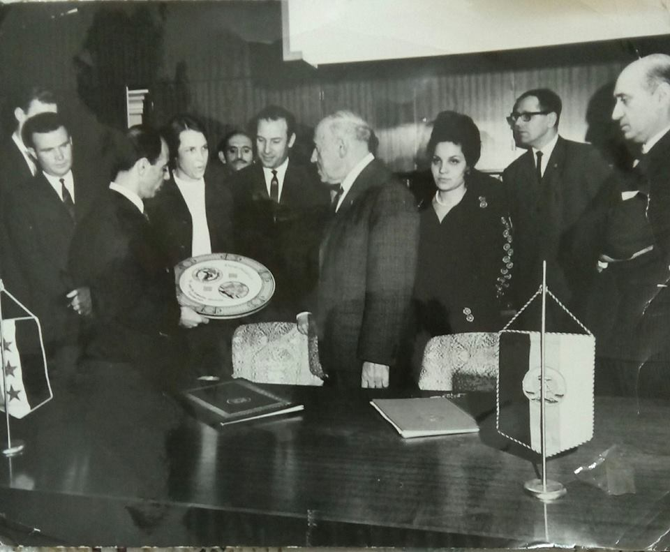 وفد سوري يزور برلين في أيار 1970