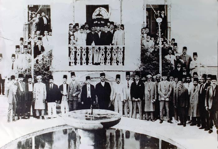 طلعت حرب في دمشق 1927