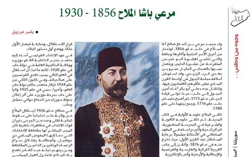 ياسر مرزوق: وجوه من وطني.. مرعي باشا الملاح