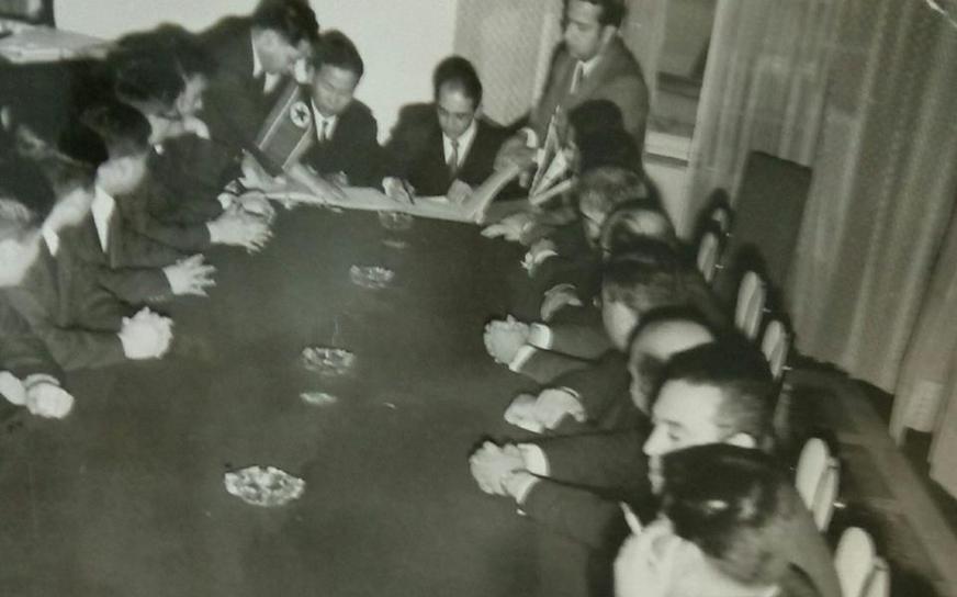 توقيع اتفاقية التعاون الاقتصادي بين سورية وكوريا الديمقراطية شباط 1970