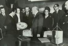 صورة وفد سوري يزور برلين في أيار 1970