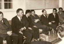 صورة ميشيل عفلق لدى وصوله الى بغداد بعد ثورة 8 شباط 1963