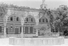 صورة دمشق 1936 مجموعة ليون هايزين قصر العظم