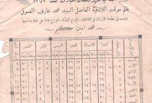 صورة اللاذقية – إمساكيَّة شهر رمضان المبارك كانون الثاني 1935