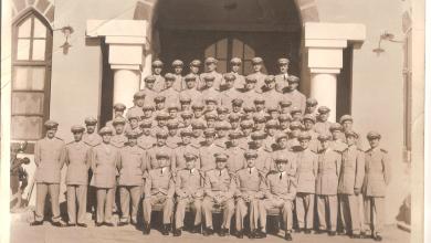 حفل تخرج دفعة ضباط الكلية الحربية عام 1954 - دورة إحسان كم الماظ