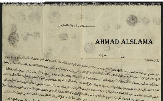من الأرشيف العثماني: قضاء صافيتا – قرى المشروحة