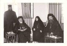 صورة زيارة البطريرك مكسيموس الخامس حكيم إلى دير سيدة صيدنايا