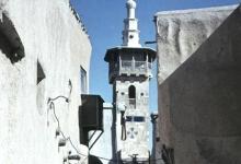 صورة دمشق – مئذنة جامع البزوري ..1963