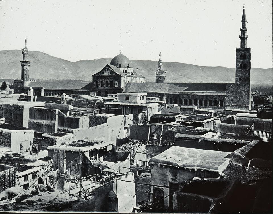 دمشق 1910- الجامع الأموي