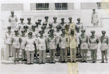 صورة مجموعة من الضباط السوريين مع وزير الحربية في القاهرة 1959