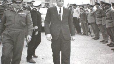 اللاذقية - المحافظ نسيم سفرجلاني في زيارة ميدانية يوم  23 شباط 1966