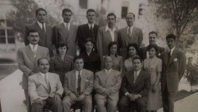 مؤسسو قسم الجغرافيا في كلية الآداب بجامعة دمشق