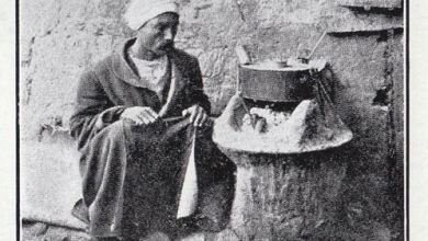 بائع القهوة في دمشق 1913 - 1916