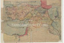 صورة خريطة آسيا في العهد العثماني