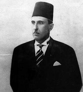 Photo of President Shukri al-Quwatli