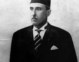 Bild von Präsident Shukri al-Quwatli