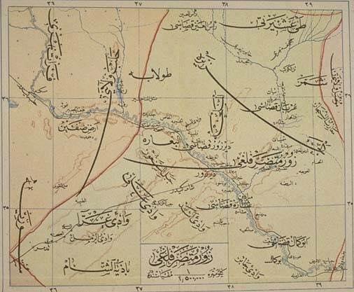خارطة عثمانية: متصرفية الزُّور