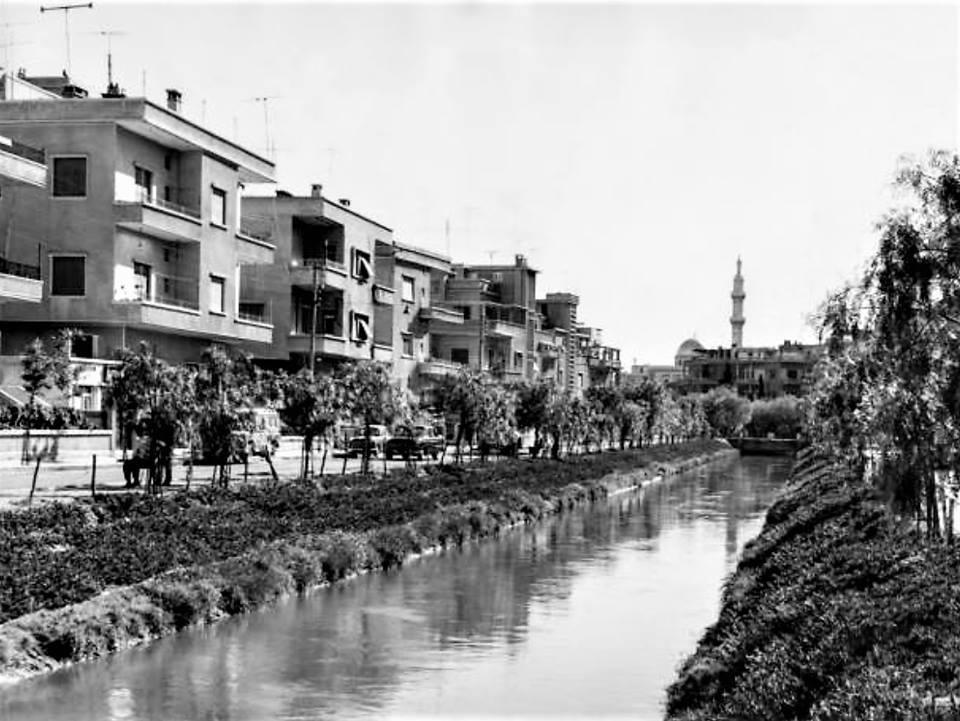 دمشق- من ساحة الروضة الى الجسر الأبيض 1963