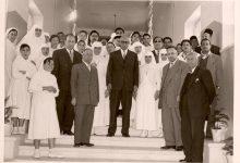صورة إفتتاح مشفى القدموس في اللاذقية –  شباط 1958
