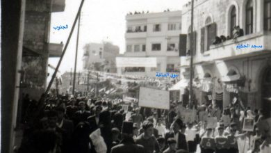 اللاذقية - شارع القوتلي عام 1958
