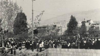 دمشق 1954- من إحتفلات الجلاء...